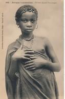 I94 - Afrique Occidentale - Fillette Maure Pourougne Et Jeune Fille Maure - Afrique