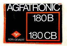 Vintage Notice Flash électronique AGFA TRONIC 180B & 180CB En Français Allemand &  Néerlandais - Matériel & Accessoires