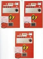 België   O.B.C.  Frankeerzegels  ATM 57   Eerste Dag  Namur - Machines à Affranchir