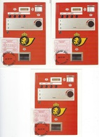 België   O.B.C.  Frankeerzegels  ATM 57   Eerste Dag  Namur - 1980-99