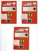 België   O.B.C.  Frankeerzegels  ATM 58   Eerste Dag  Eupen - Machines à Affranchir
