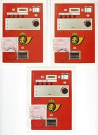 België   O.B.C.  Frankeerzegels  ATM 59   Eerste Dag  Antwerpen - Machines à Affranchir
