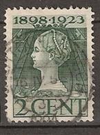1923 Jubileum 2ct  - Stempel: 's HERTOGENBOSCH - 1891-1948 (Wilhelmine)