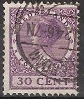 1924 Wilhelmina 30 Ct NVPH 159 - No Watermark -  Cancelled/gestempeld - Usados