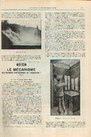 « Le Voyage Terrestre – La Compagnie Des Wagons-Lits» Partie Complète D'un Article Extrait Du « Bulletin Du ---> - Chemin De Fer