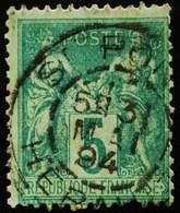 -Sage N°75 Type Ll. O St PONS 31 Mai 1894. - 1876-1898 Sage (Type II)