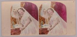 Stereoscopische Kaart.  :The Brides - Cartes Stéréoscopiques