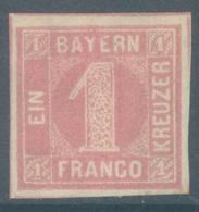 BAYERN - 1850 - MH/*  - Mi 3  Yv 4   - Lot 19231 - Bavaria