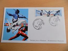 FDC France : Championnats Du Monde D'Athlétisme - Saint Denis 19/07/2003 - FDC
