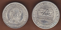 AC -  STAR WARS R2D2 NICKEL TOKEN - JETON - Jetons & Médailles