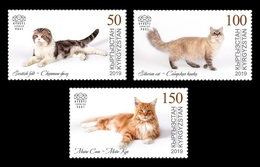 Kyrgyzstan (KEP) 2019 Mih. 125/27 Fauna. Domestic Cats MNH ** - Kirghizistan