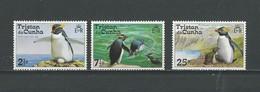 Tristan Da Cunha: 191 + 193/ 194 **   Manchots - Pingouins & Manchots