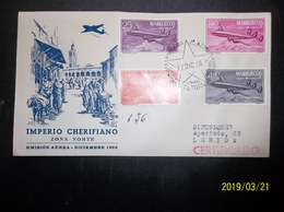 Marruecos: 1956 Rgt. Air Ca-FDC To Lerida (#GP7) - Maroc (1956-...)