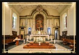 14  COURSEULLES  Sur  MER  ... Interieur De L'église - Courseulles-sur-Mer