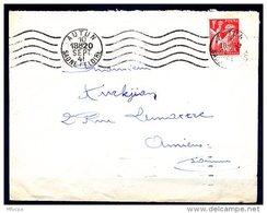 Am5125 Saône Et Loire 71 Autun R.B.V. AUT107 5 L.O. /lettre 10/09/41 - Marcophilie (Lettres)