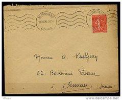 Am5132 Doubs 25 Besabçon RP KRAG BES126 5 L.O. /lettre 13/12/29 - Marcophilie (Lettres)