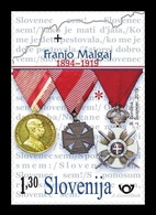 Slovenia 2019 Mih. 1358 World War I. Military Leader Franjo Malgaj MNH ** - Slovénie