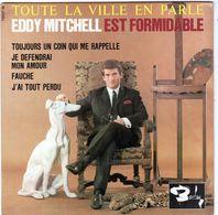 Disque 45 Tours De Eddy Mitchell-toujours Un Coin Qui Me Rappelle - - Vinyles