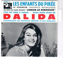 Disque 45 Tours De Dalida - Les Enfants Du Pirée - - Vinyles