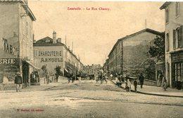 LUNEVILLE - La Rue Chanzy Belle Enseigne Pub Charcuterie ARNOULD - Luneville