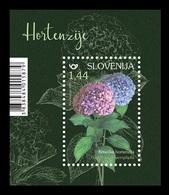 Slovenia 2019 Mih. 1364 (Bl.115) Flora. Flowers. Hydrangeas MNH ** - Slowenien