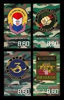 Croatia 2019 Mih. 1361/64 Croatian War Of Indepence. Guards Brigades MNH ** - Croatie
