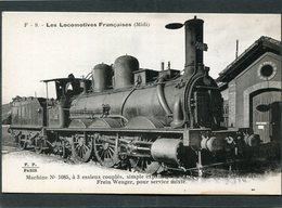 CPA - Les Locomotives Françaises (Midi) - Machine N° 1085 - Matériel