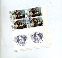 Cachet Saint Louis Journee Du Timbre 1981 Sur Coin De Feuille - Cachets Commémoratifs