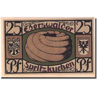 Billet, Allemagne, Eberswalde, 25 Pfennig, Château 1921-07-01 SPL Mehl:303.1a - Allemagne