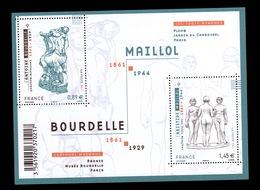 YV F4626 YV 4626 & 4627 N** Sculptures - Prix = Faciale - France
