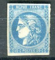 FRANCE ( BORDEAUX ) Y&T  N° 44 OU 45 OU 46 ? TIMBRE  NEUF  SANS  GOMME  AVEC  TRACE  DE  CHARNIERE . - 1870 Siege Of Paris