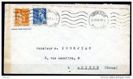 Am5200 Meurthe Et Moselle 54 Nancy Pl. St Jean  KRAB NAN 464 /lettre 21/07/42 - Marcophilie (Lettres)
