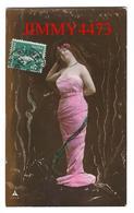 CPA - UNE JOLIE JEUNE FILLE AVEC UNE BELLE ROBE En 1911 - Edit. Ph - N° 4583-4 - Scans Recto-Verso - Femmes
