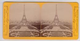 Stereoscopische Kaart.  :PARIS.  TOUR EIFEL - Cartes Stéréoscopiques