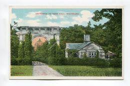Entrance To Aske Hall Richmond - England