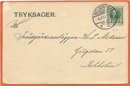 DK119, * POSTAL STATIONARY * SENT 1907 - Entiers Postaux