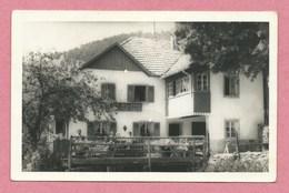 68 - LINTHAL - REMSPACH - Carte Photo - Café Bellevue - Terrasse - France