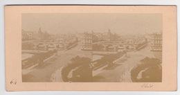 Stereoscopische Kaart.  :PARIS.  Panorama - Cartes Stéréoscopiques