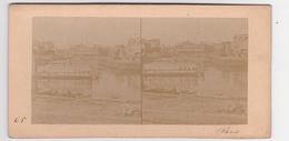 Stereoscopische Kaart.  :PARIS.  Vue Prise Du Quai Napoleon - Cartes Stéréoscopiques