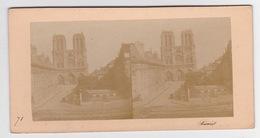 Stereoscopische Kaart.  :PARIS.  N.D.de Paris - Cartes Stéréoscopiques