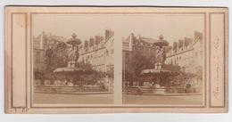Stereoscopische Kaart.  :PARIS.  Place Louvois - Cartes Stéréoscopiques