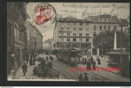 GENEVE - Place De La Fusterie Et Rue Des Allemands - GE Ginevra