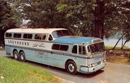 """07790 """""""" THROUGH VACATION WONDERLAND BY GREYHOUND SCENICRUISER"""" AUTOBUS  CART. ORIG. SPED. 1965 - Autobus & Pullman"""