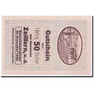 Billet, Autriche, Zeillern, 50 Heller, Agriculteur, SPL, Mehl:1263b - Autriche