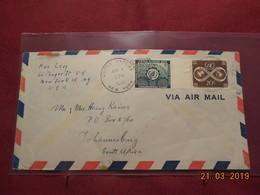 Lettre De 1954 Des Nations Unies - New York -  VN Hauptquartier