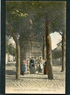 CPA - ARNOUVILLE LES GONESSE - La Fontaine, Animé - Arnouville Les Gonesses