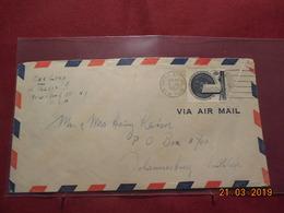 Lettre De 1953 Des Nations Unies - New-York - Siège De L'ONU