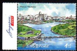 2012 Singapour, Eau, Marina Bay, Roue - Singapour (1959-...)
