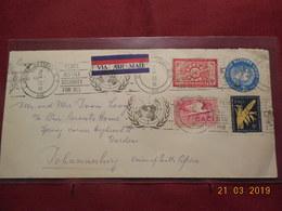 Lettre De 1956 Des Nations Unies (entier Postal) - New York -  VN Hauptquartier