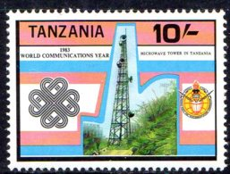 1983, Tanzanie, Communication, Tour - Tanzanie (1964-...)